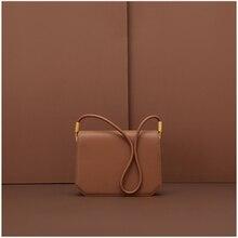 цена на CHARMIYI Brand Designer 2019 Cowhide Leather Small Women Shoulder Bags Ladies Crossbody Bag Classic Fashion Wild Messenger Bags