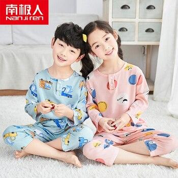 NANJIREN Kids Pajamas Children Sleepwear Baby Pajamas Sets Boys Girls Animal Pyjamas Pijamas Cotton Nightwear Clothes For Kid