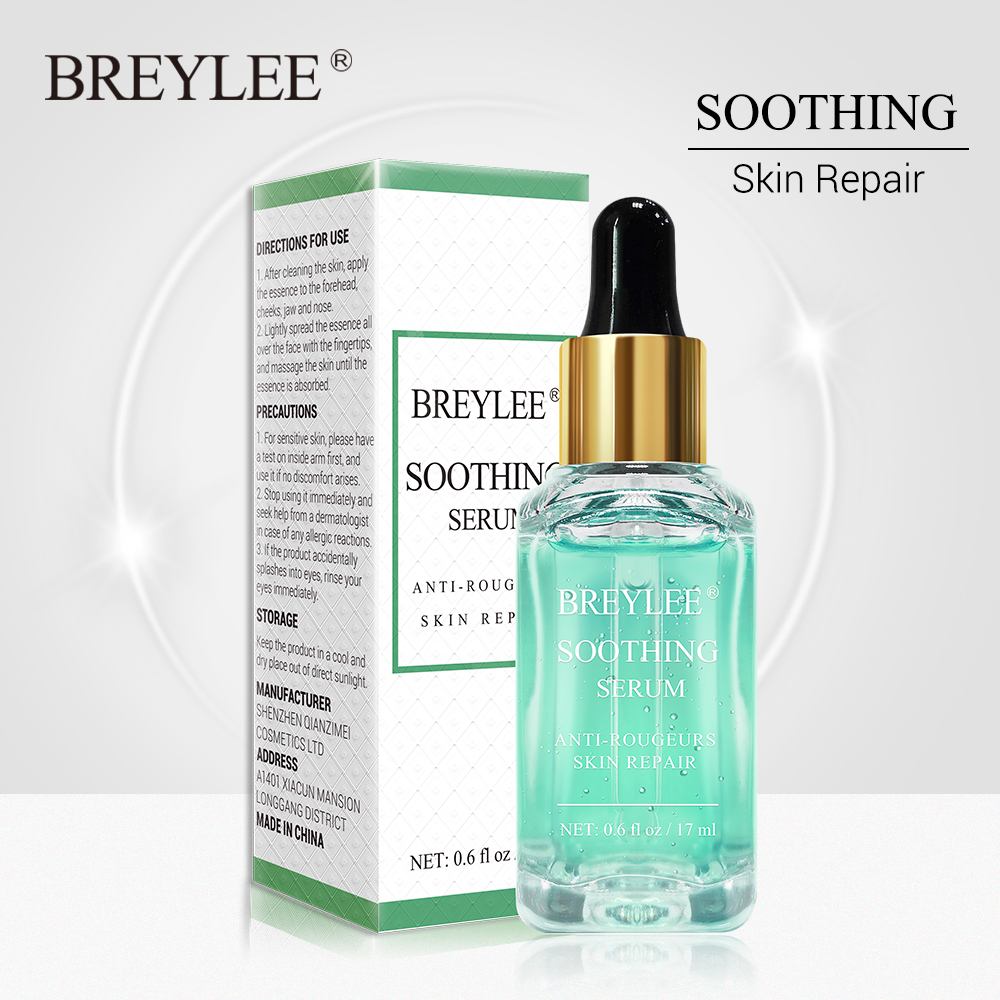 BREYLEE Repairing Serum Sensitive Skin Remove Fade Redness Treatment Soothing Whitening Face Skin Care Acne Scar Snail Serum