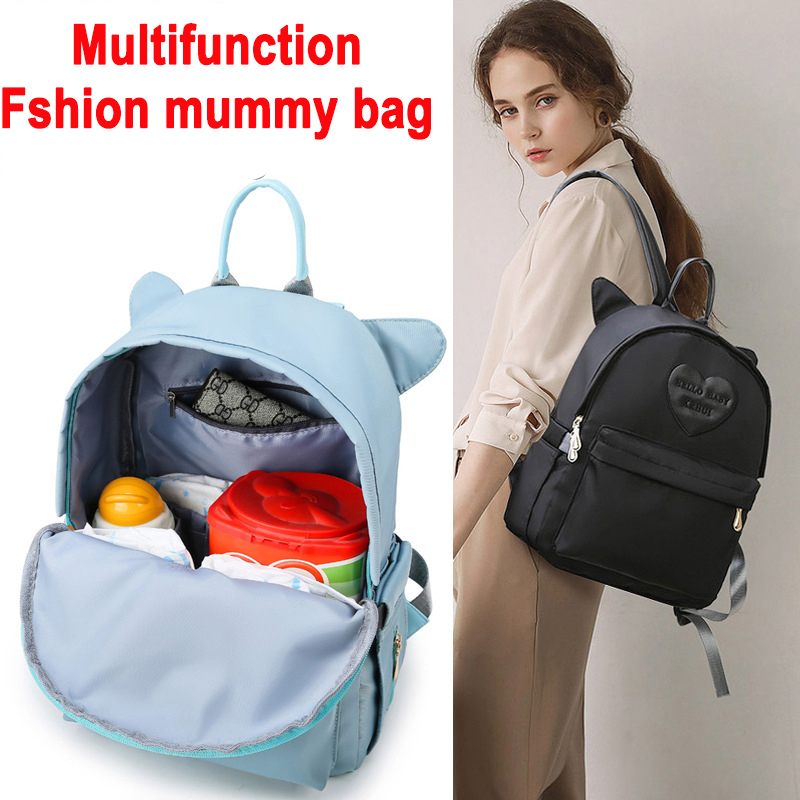 Waterproof Baby Diaper Bag Fashion Mummy Maternity Nappy Bag For Mommy Backpack Changing Bags For Mom Daiper Bag For Moms