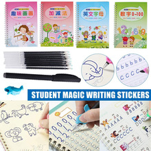 1pc Magic Calligraphy That Can Be Reused Handwriting Copybook Set For Kid Calligraphic Letter Writing Gifts Student Supplies