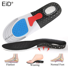 Silicone-Gel-Insoles Arch-Support Orthopedic-Pad Absorption Eid Running Shoes Sole Massaging-Shock