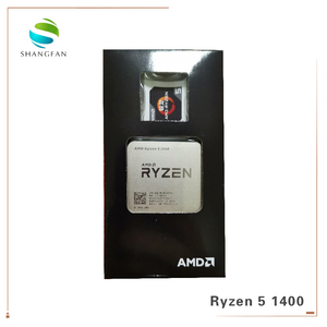 Image 3 - AMD Ryzen 5 1400 R5 1400 3.2 GHz Quad Core CPU YD1400BBM4KAE ซ็อกเก็ต AM4 cooling cooler พัดลม