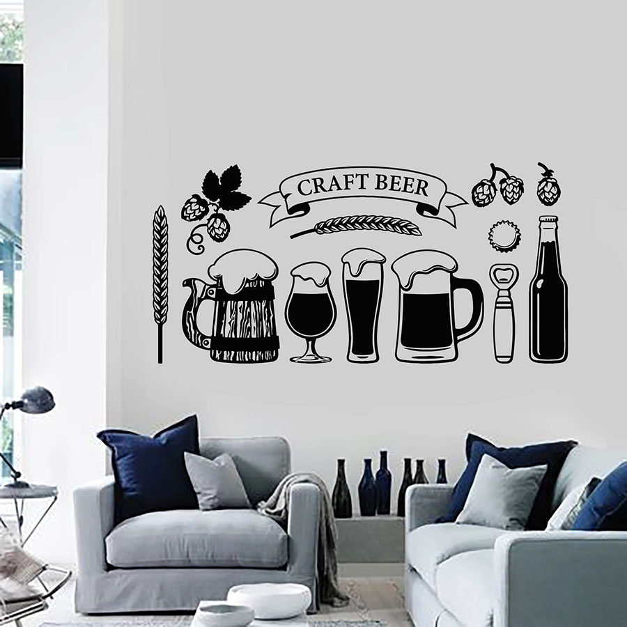 Vodka Is Just Like Fun Water DecalFunny Home Decor Garage Wall