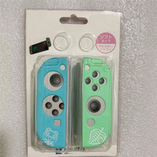 Silicone Protective Cover Housing Case for Animal Crossing for Nintend Switch Joy con Game Controller Accessories