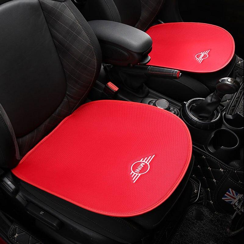 Подушка для автомобильного сиденья, Летний дышащий чехол для сиденья, набор, авто коврик для украшения Mini Cooper One S F54 F55 F60 R60 Countryman Чехлы на автомобильные сиденья      АлиЭкспресс
