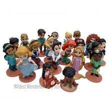 Disney princess action figures toys rapunzel snow cinderella