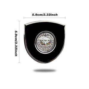 Image 3 - Car Sticker for Cadillac SLS XLR XTS ATS BLS CTS EXT STS SLR SRX Emblem Logo Stickers Crystal Decorative Decal Auto Accessories