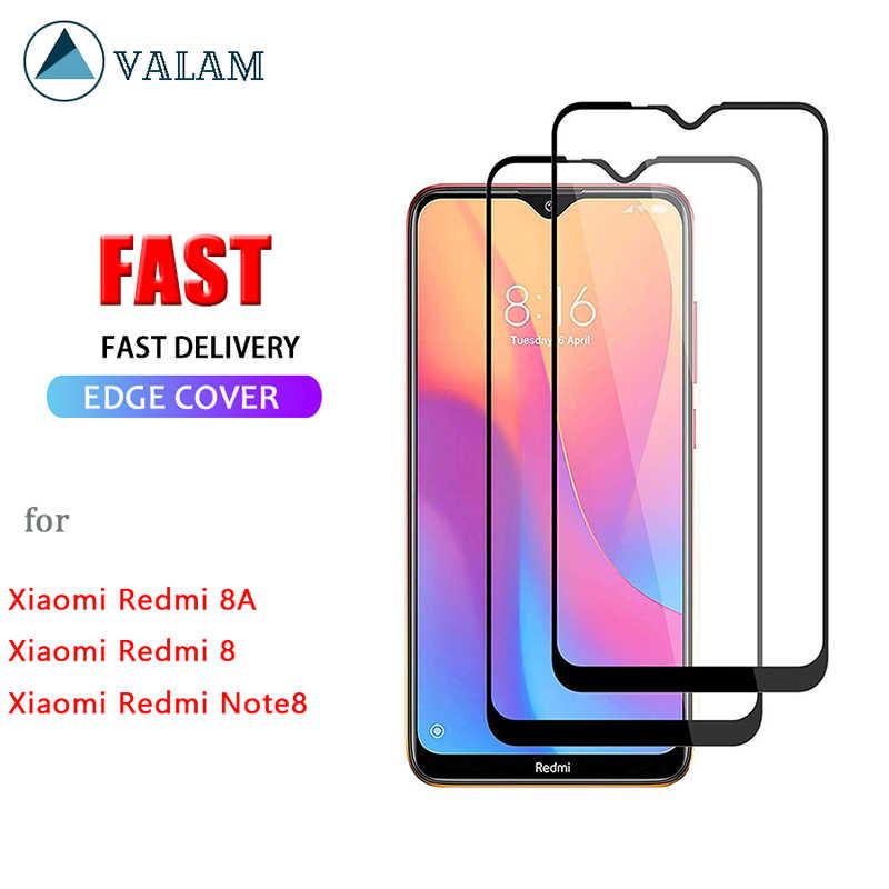 Защитная пленка из закаленного стекла Valam для Xiaomi redmi 8 8A, Защитное стекло для всего корпуса redmi Note8 Pro redmi 8