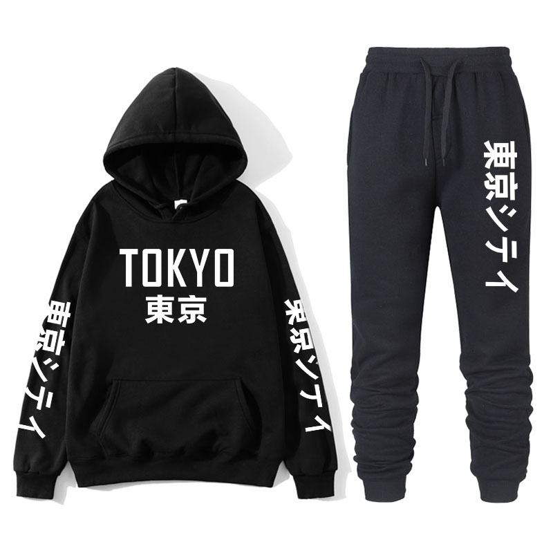 Men's And Women's Couples Suit Hoodies And Pants Sportswear Men's Sportswear Track And Field Clothing Men's Suit 2019 Brand Spor