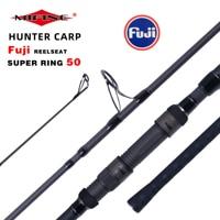 Mifine vara de pesca para carpa t800  fibra de carbono  para molinete  3.75lbs  40-160g  3.96m haste dura do pólo surf