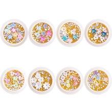 1 джармикс цветочный дизайн ногтей маникюр Поделки Сделай Сам/Икра
