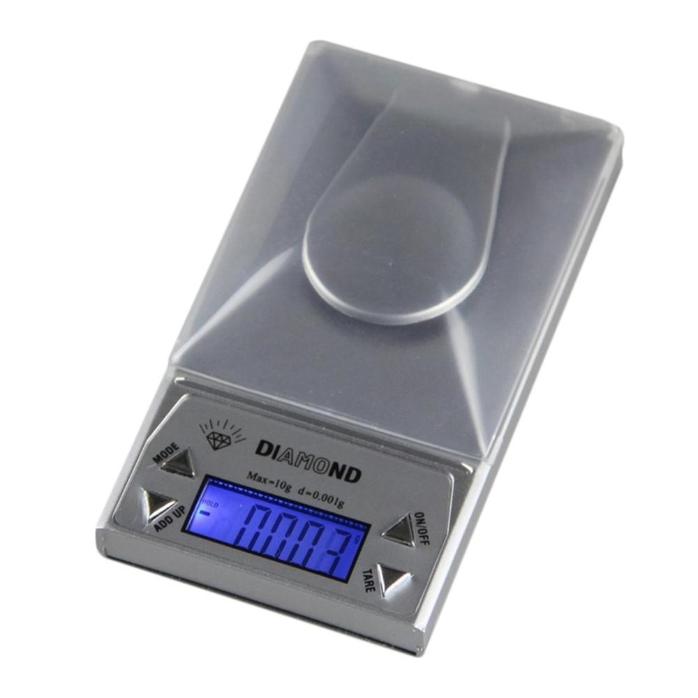 High Precision Compact And Portable Experiment 10/20/50G 0.001g LCD Lab Digital Jewelry Scale Herb Balance Weight Gram