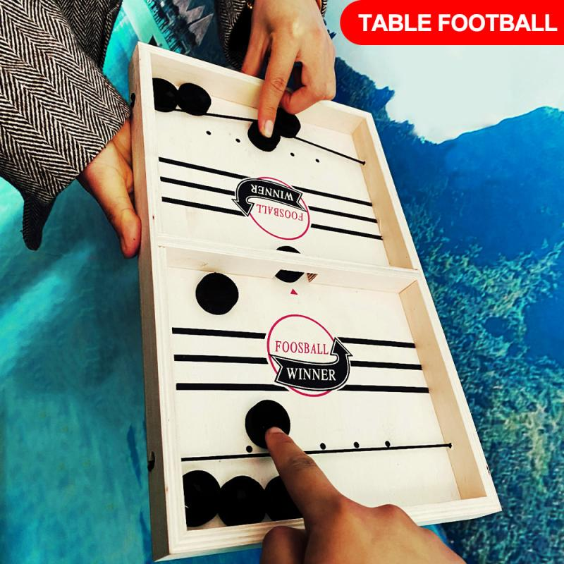 Fast Hockey Sling Puck Game Paced Sling Puck Winner Fun Toys Board-Game Party Game Toys For Adult Child Family Hot In Sale(China)