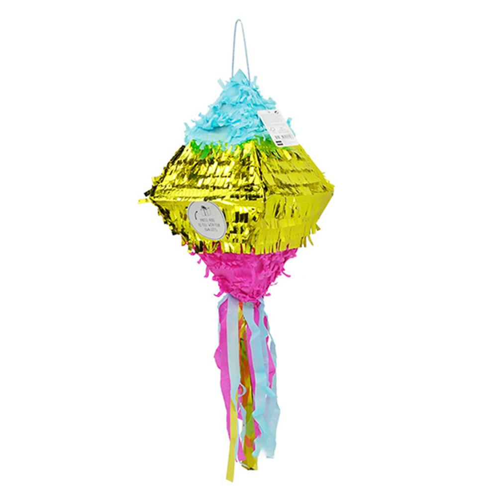 Diamond Pinata Birthday Party Supplies Foil Pinata Props
