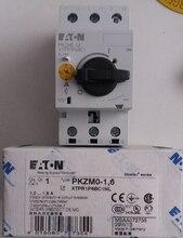 Eaton moeller PKZM0-1.6 PKZM0-1,6 disjuntor 1-1.6a-novo
