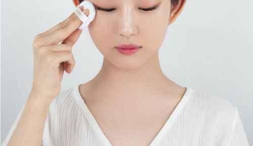 Hiçbir SEBUM mavi tozu 5g beyazlatma yağ kontrolü mat gevşek toz ipeksi yumuşak mineral toz pürüzsüz aydınlatmak cilt Korea kozmetik