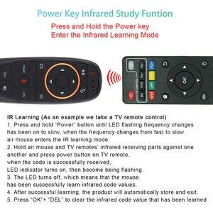 Image 4 - Giroscopio L8STAR G10S, Aero mouse, 2,4G, inalámbrico por voz, ratón remoto, TV para LG, Android tv box, Smart TV