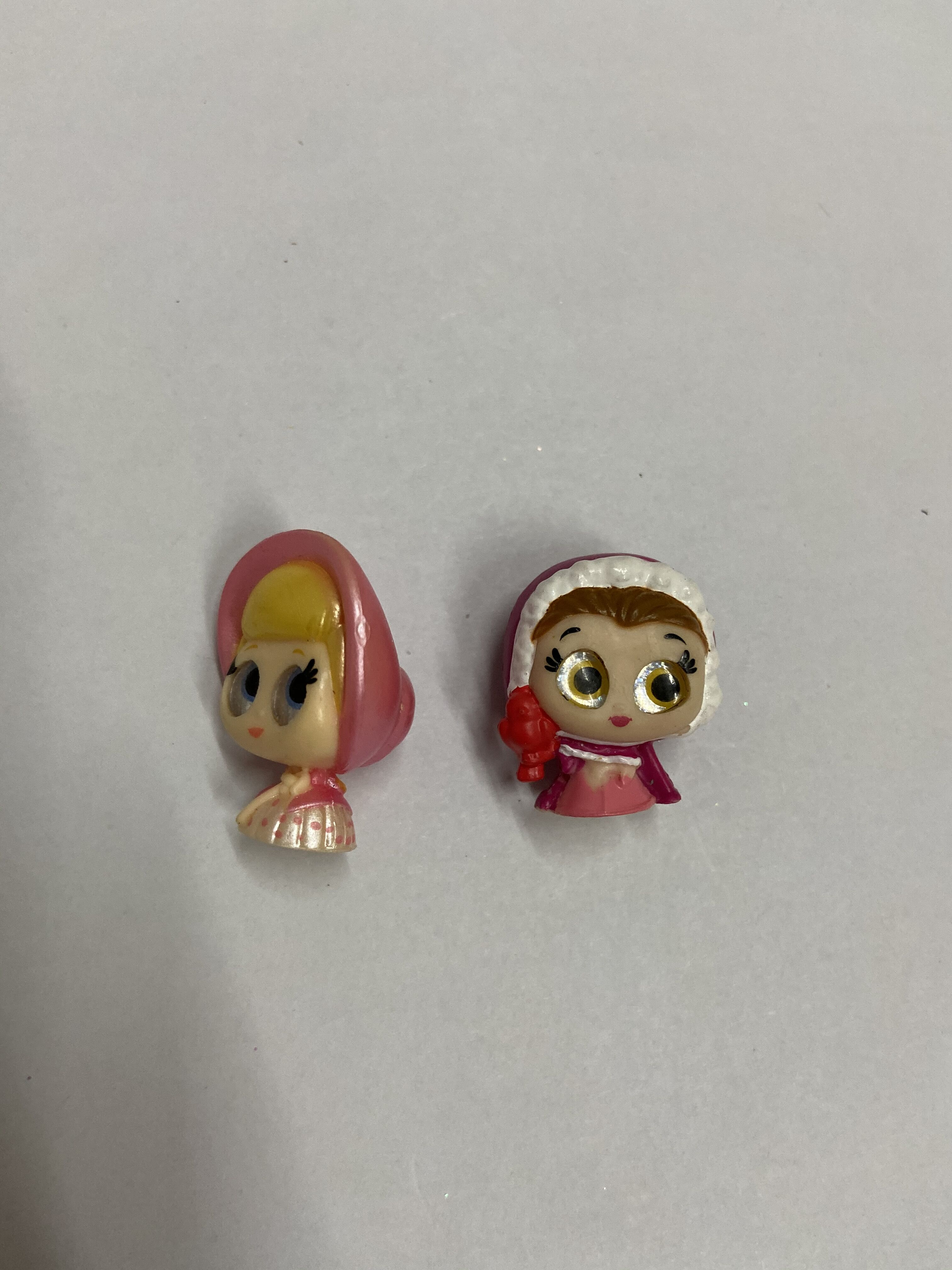 Doorables Bo Peep Belle In Red Winter Outfit Collection Model Toys Anime Cosplay Rare Version Mini Figure 1 Peek