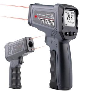 Image 1 - Non contact Infrared Thermometer  50~550/750/1100/1300/1600 degree Max/Min/Dif/Avg Measurement Industrial high temperature Gun