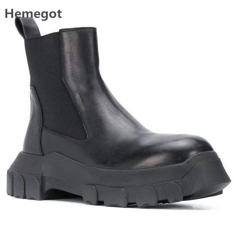 Military Boots Men Tick Sole Zapatillas Hombre Winter Outdoor Sapato Masculino Leather Botas Hombre Men Shoes Casual Scarpe Uomo