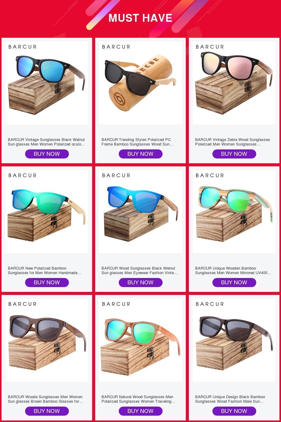 Hbad245cff5cc4507bc819a876dd0060bp BARCUR Natural Wood Sunglasses Men Polarized Sunglasses Women Traveling Vintage glasses oculos de sol