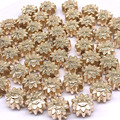Размер: 12*8 мм 50/100 шт с большими отверстиями, кулоны А-рукоделие бусины для бижутерии, материал для цветок браслетов, ожерелий, диаметр бусины...