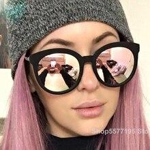 2020 Vintage Luxury Women Sunglasses Candy Color Lens Eyegla