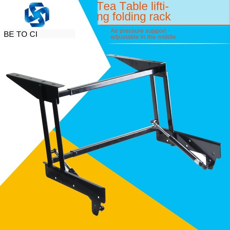 Furniture Multi-functional Pneumatic Lift Table Table Table Table Table Support Shelf Telescopic Rack Hardware Accessories