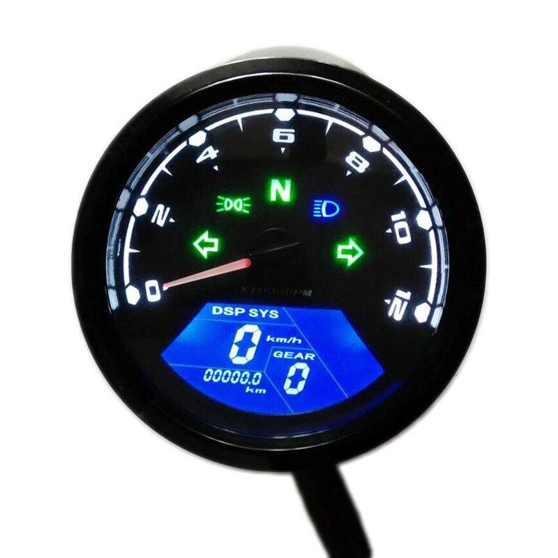 Motorcycle Lcd Meter Odometer Tachometer Speedometer Low Oil Alarm Lcd Oil Meter Odometer Sensor     - title=