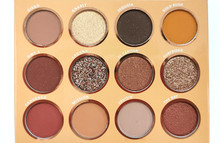 цена на Summer Day California 12 Color Pearly Lustre Eyeshadow Compact Twelve-Color Eyeshadow Earth Color Eye Shadow  RED Eyeshadow