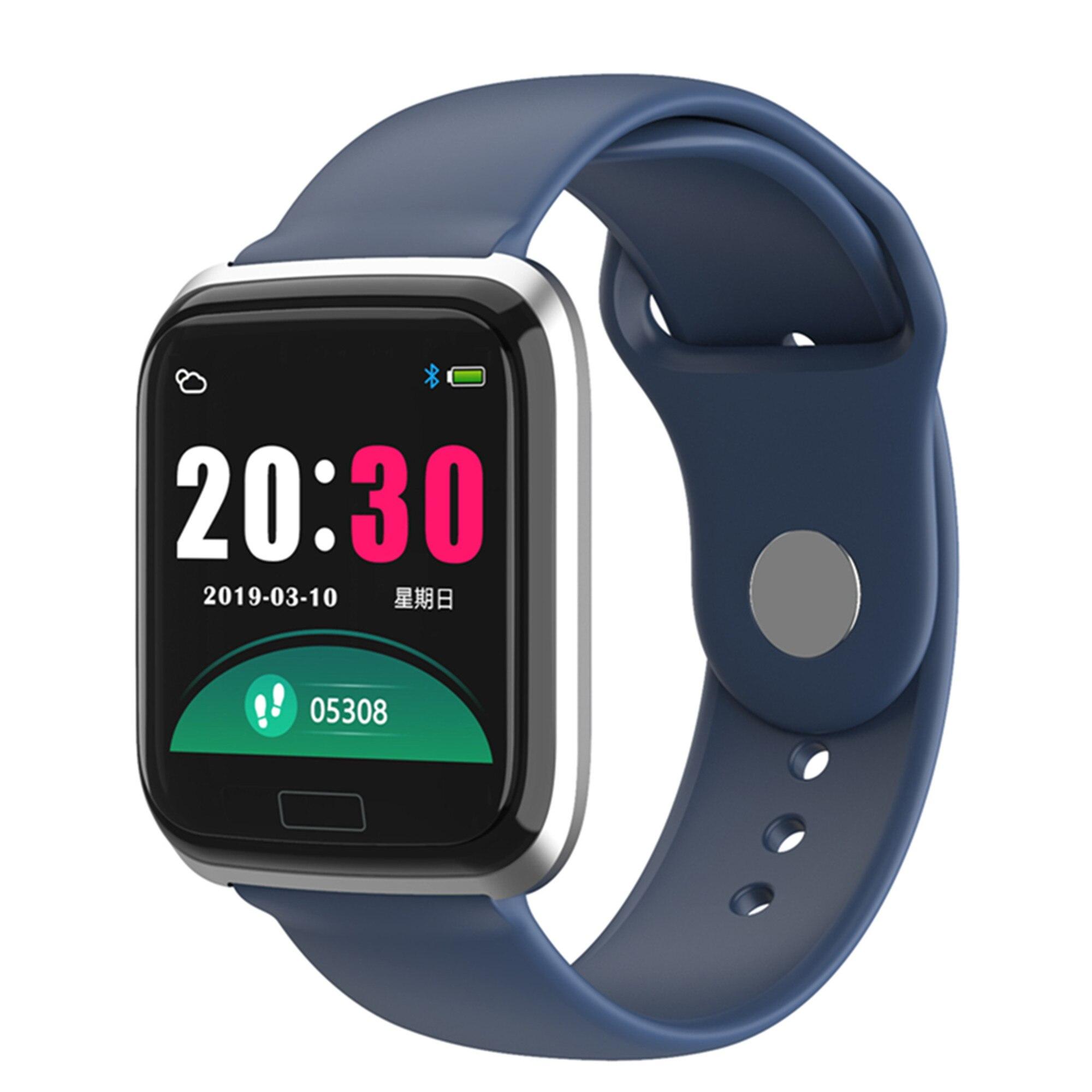 CY05 Smart Bracelet 1.3 Inch Color Fashion Sports Watch Waterproof Fitness Tracker Heart Rate Blood Pressure Step Monitor PK B57