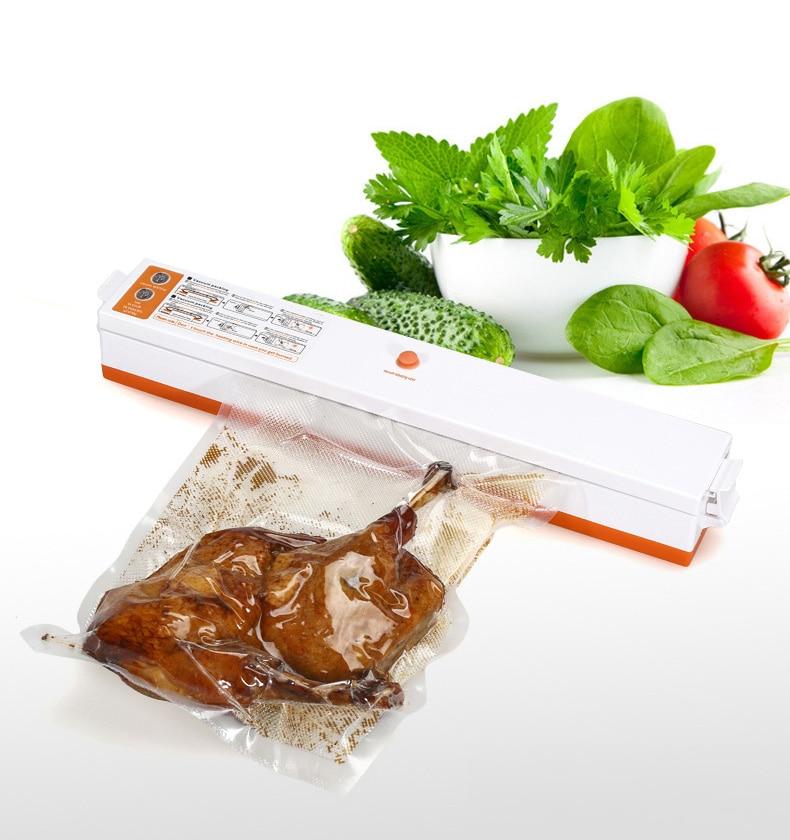 220V/110V Household Food Vacuum Sealer Packaging Machine Film Sealer Vacuum Packer Including 10Pcs Bags|Vacuum Food Sealers| - AliExpress