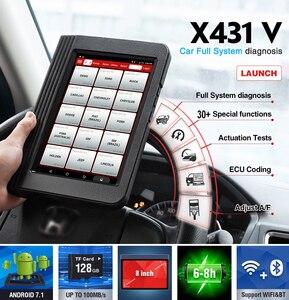 Image 5 - Launch X431 V Wifi/Bluetooth volledig systeem Diagnostisch hulpmiddel x 431 v Pro mini ECU codering OBD2 scanner update online 2 jaar gratis