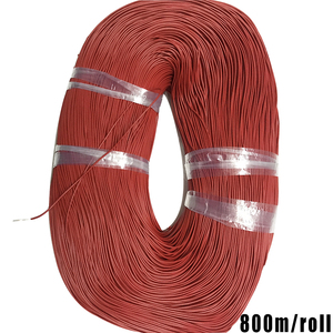 Maintenance line electric ultrafino out diameter 1.3mm Ultra-thin ultra-thin wire Flexible cable Superfine pure copper wire