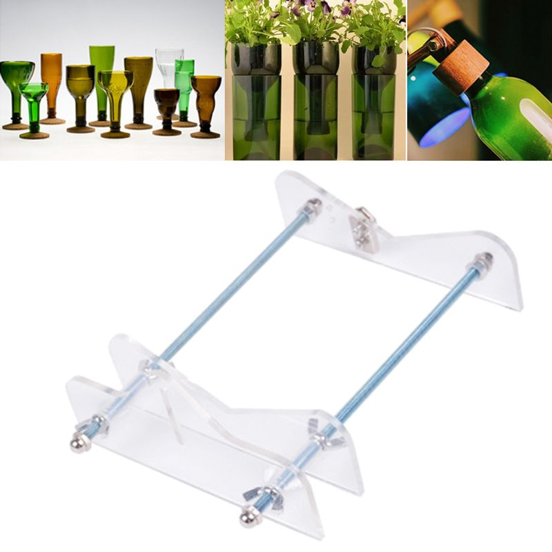 Creative Beer Wine Bottles Cutting DIY Glass Bottle Cutter Machine Professional CORC