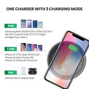 Image 4 - Ugreen bezprzewodowa ładowarka samochodowa do iPhone 11 X Xs Plus 10W Qi szybka bezprzewodowa podstawka ładująca dla Samsung S10