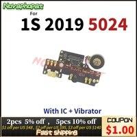 Für Alcatel 1S 2019 5024 5024D 5024Y 5024K USB Dock Lade Port Stecker Ladegerät Flex Kabel Mit Mikrofon MIC Board Vibrator