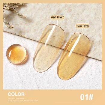 SKVP 8ML Dull Color Gel Polish Translucent  Manicuring UV LED Crystal Gel Soak Off Jelly UV Gel Nail Polish Semi Permanent 9