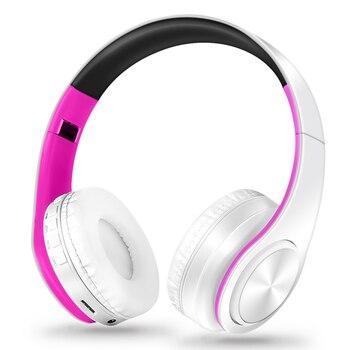 Headphones Bluetooth Headset Earphone Wireless Headphones Stereo Foldable Sport Earphone Microphone Headset Handfree MP3 Player 5