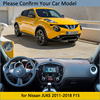 Dashboard Cover Protective Pad for Nissan JUKE F15 2011 2019 Car Accessories Dash Board Sunshade Anti-UV Carpet 2016 2017 2018 review