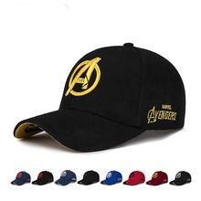 2020 Marvel superhero Avengers männer frauen Baseball Kappe Snapback Trucker hut die Avengers Einstellbare Hip Hop Hut stickerei kappe(China)