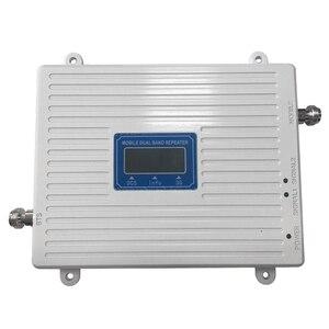 Image 4 - DCS 1800 WCDMA UMTS 2100 ثنائي النطاق هاتف محمول مكرر إشارة الخلوية مكبر للصوت الهاتف المحمول إشارة معززة ل 2g 3g 4g