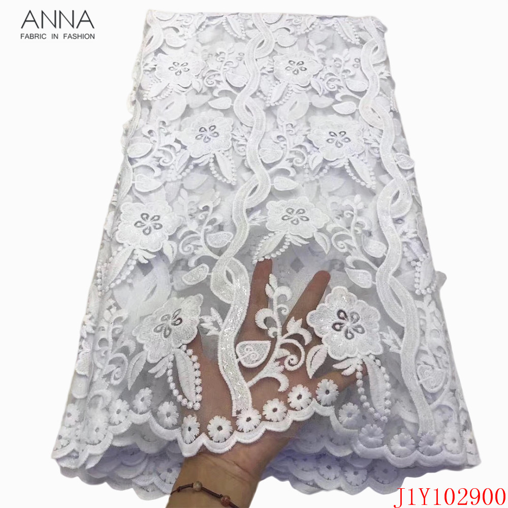 5 yards African Laces Fabrics Embroidered French Lace Fabric