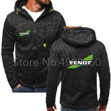 Весна осень модные толстовки мужские большого размера теплые флисовые пальто с логотипом Fendt мужские толстовки KMD брендовые толстовки