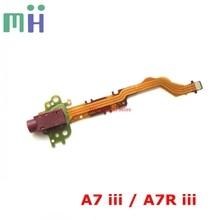NEW A7III A7RIII MIC Microphone Jack Interface Cable Flex FPC A2196478A For Sony A7M3 A7RM3 A73 A7R3 A7 III / A7R III / M3 / 3