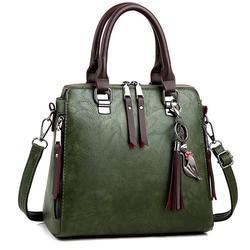 Luxo das senhoras do vintage sacos de mão totes borla crossbody sacos para as mulheres 2019 famosa mulher couro ombro saco do mensageiro w387