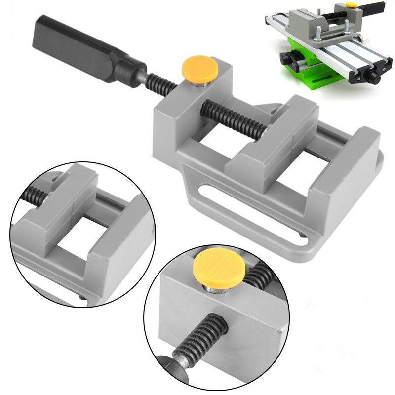 Universal Bench Vise Mini Table Screw Vise Aluminium Alloy Bench Clamp Screw Vise For DIY Craft Mold Fixed Repair Tool