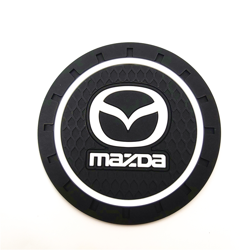 CAR Auto Emblem Car Mat Case For Mazda 2 Mazda 3 MS For Mazda 6 CX-5 CX5 Car-Styling Badge Accessories 1pcs
