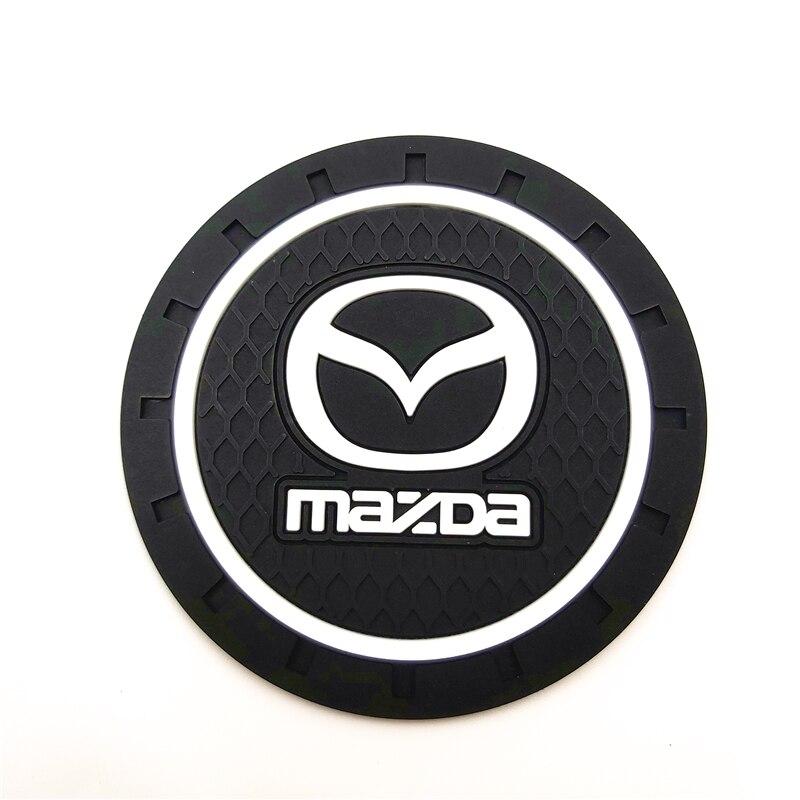 CAR Auto Emblem Car Mat Case For Mazda 2 Mazda 3 MS For Mazda 6 CX-5 CX5 Car-Styling Badge Accessories 1pcs